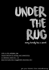 under the rug poster final